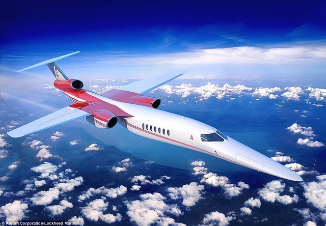 Theo Dailymail, hai hãng máy bay Aerion và Lockheed Martin đang thí điểm hợp tác với dự án chế tạo máy bay thương mại chở 12 hành khách có tên AS2. Nếu dự án thành công, đây có thể sẽ là máy bay thương mại siêu thanh đầu tiên sau những chiếc máy bay siêu thanh Concorde được thiết kế vào những năm 1960.