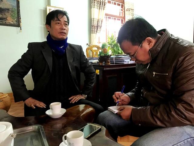 PV Dân trí trao đổi với Bí thư huyện Đông Giang