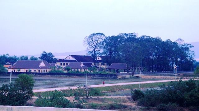 Tiểu chủng viện Làng Sông (huyện Tuy Phước, Bình Định) yên bình trước Noel.