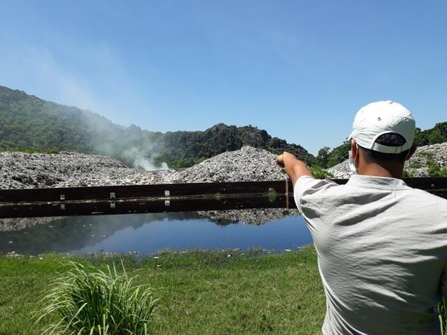 Khu vực bãi rác gây ô nhiễm môi trường
