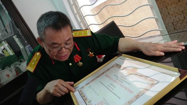 Cựu chiến binh Bùi Hồng Hà kể lại những tháng ngày chiến đấu máu lửa năm xưa