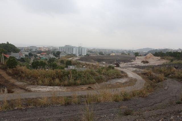 Khu vực dự án bị sụt lún nhưng chưa được TKV xử lý