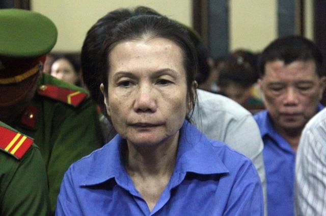 Bị cáo Oanh lãnh án chung thân.