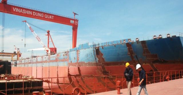 Nhà máy đóng tàu Dung Quất là một trong ba dự án sẽ được thanh tra đợt này.