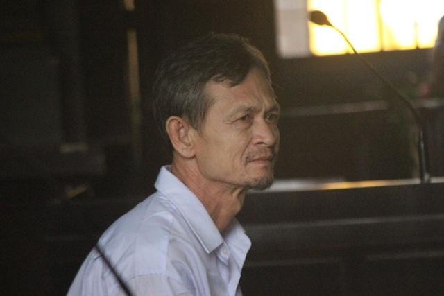 Bị cáo Nuôl tại phiên tòa.