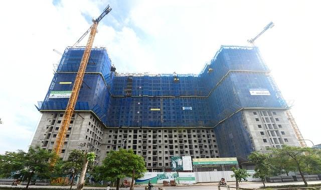 Vượt tiến độ dự kiến, các căn hộ EcoHome Phúc Lợi sẽ mang đến một môi trường sống xanh, tiện ích hiện đại cho các cư dân