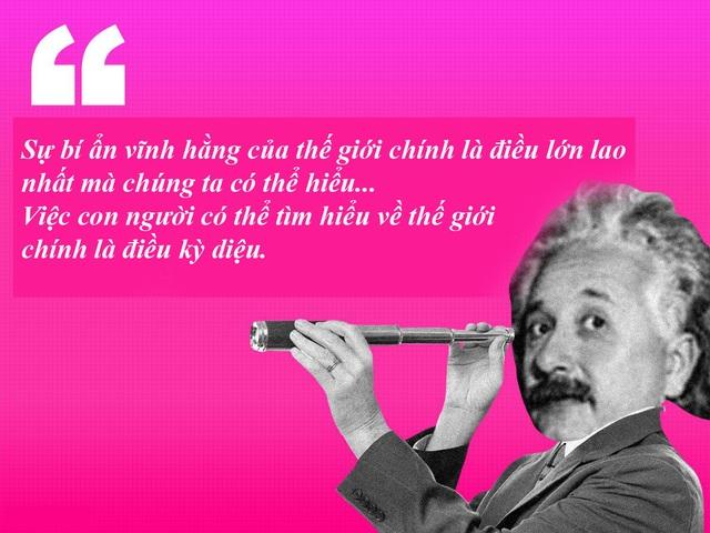 "20 câu nói ""bất hủ"" của thiên tài Albert Einstein - 10"