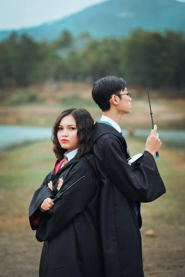 """Độc đáo bộ ảnh kỷ yếu đậm chất """"Harry Potter"""" của học sinh Hải Phòng - 13"""