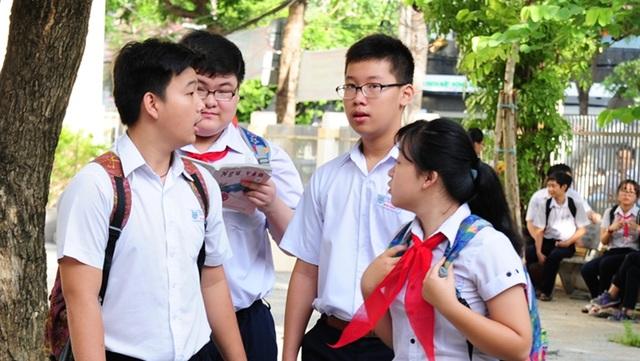 Thí sinh dự thi vào lớp 10 năm học 2017 - 2018 ở Đà Nẵng