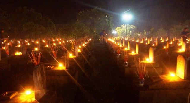 Nghĩa trang liệt sỹ quốc tế Việt - Lào là nơi an nghỉ của hơn 11.000 cán bộ, chiến sỹ quân tình nguyện và chuyên gia quân sự Việt Nam, những người con ưu tú của 47 tỉnh, thành trong cả nước đã hy sinh trên chiến trường nước bạn Lào.