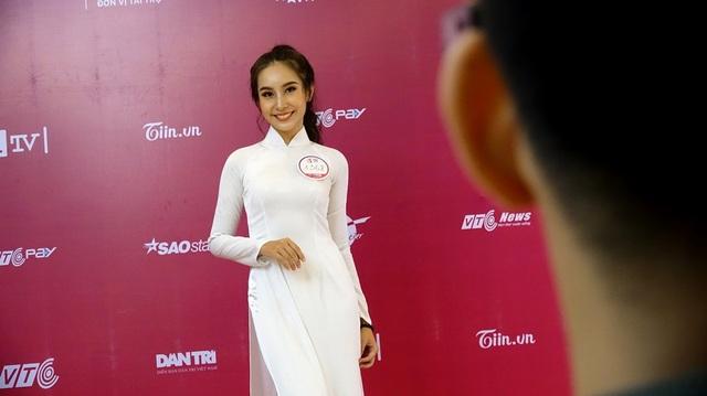 Thí sinh Bảo Trâm từng đoạt giải nhất trong Gương mặt ảnh bìa 2015 do báo Hoa học trò tổ chức, Top 20 Miss Áo Dài nữ sinh Việt Nam 2016