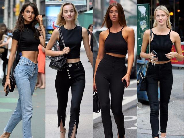 """Bộ trang phục khiến các người mẫu đều lựa chọn khi cần """"tôn dáng"""" - 1"""