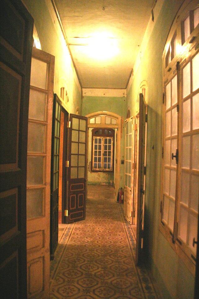 Hành lang nối các phòng