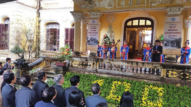 Lễ kỷ niệm 100 năm Cung An Định