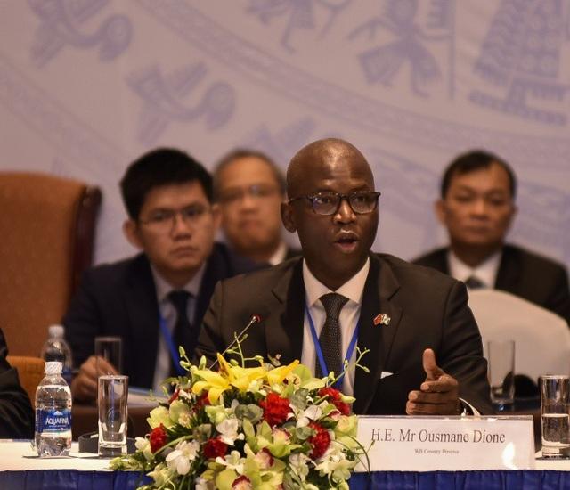 Ông Ousmane Dione - Giám đốc Ngân hàng Thế giới tại Việt Nam
