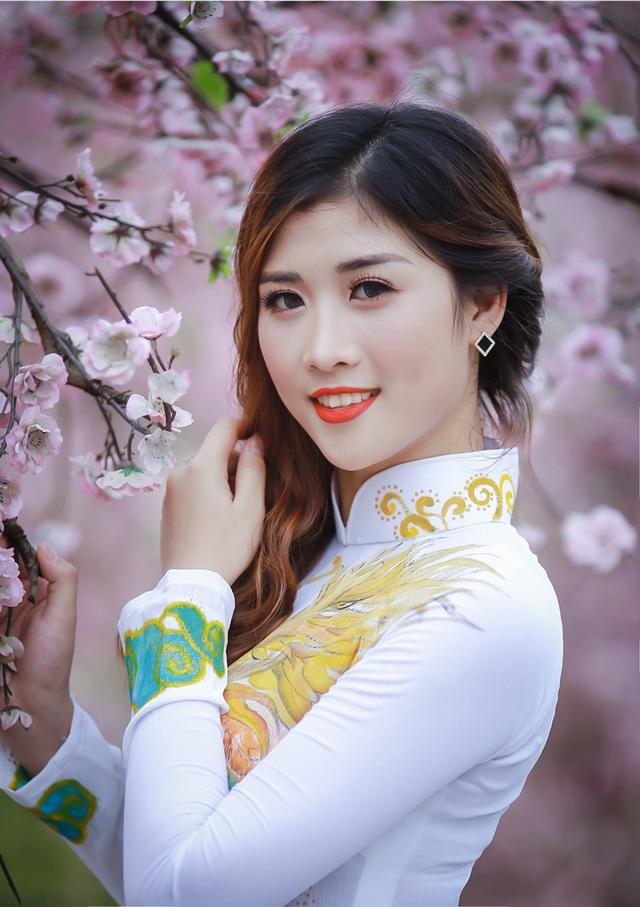Lê Thị Ngọc (sinh năm 1997) - sinh viên Học viện Tài chính.