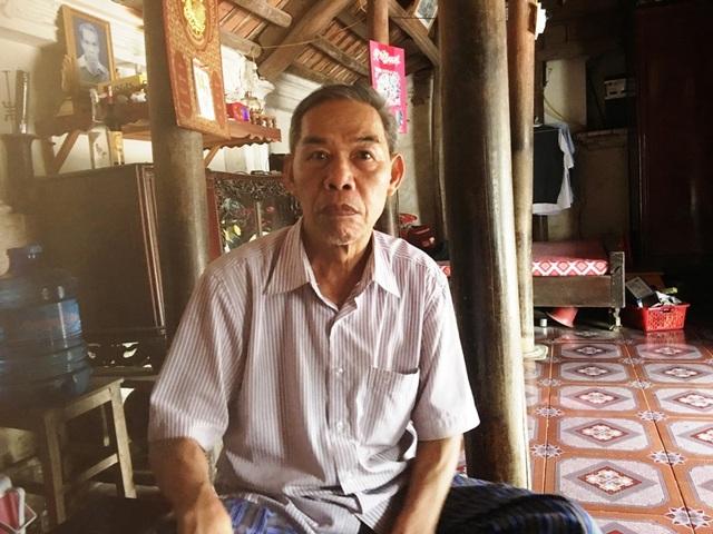Ông Nguyễn Mạnh Hùng, làng Sanh, xã Vĩnh Thịnh, huyện Vĩnh Lộc