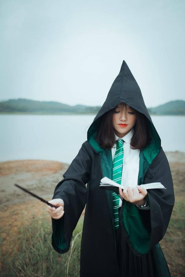 """Độc đáo bộ ảnh kỷ yếu đậm chất """"Harry Potter"""" của học sinh Hải Phòng - 12"""