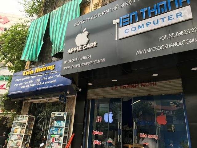 Kể từ khoảng thời gian cuối tháng 3, đã có nhiều cửa hàng, đại lý nhận được thư khuyến cáo từ đại diện của Apple tại Việt Nam.