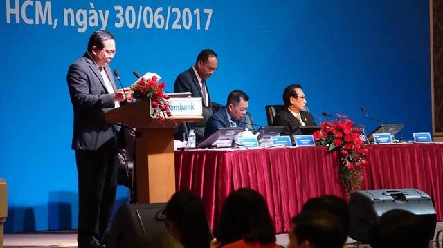 Ông Phan Huy Khang, Phó Chủ tịch HĐQT kiêm Tổng Giám đốc Sacombank