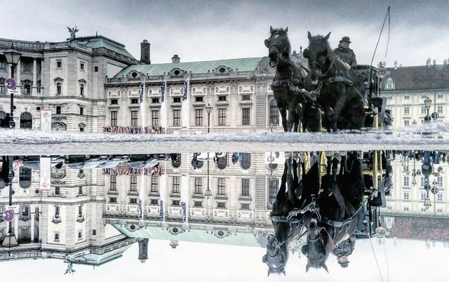 Bức tượng nổi tiếng tại thành phố Vienna