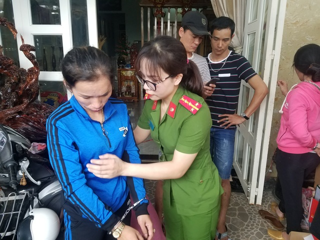 Đối tượng Trần Thị Tường Vi cầm đầu đường dây mua bán ma túy