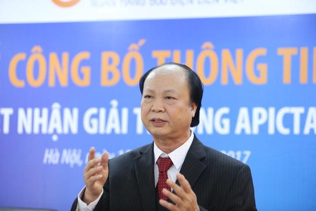 Ông Nguyễn Đình Thắng - Phó Chủ tịch HĐQT LPB phát biểu tại buổi lễ