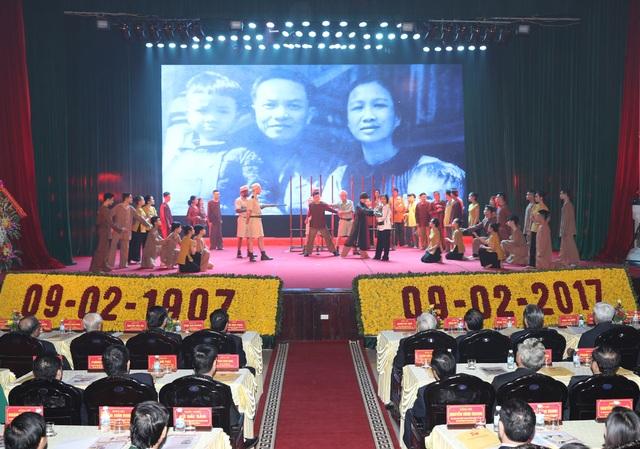 Tổng Bí thư Nguyễn Phú Trọng dự Lễ kỷ niệm 110 năm ngày sinh Tổng Bí thư Trường Chinh - 3