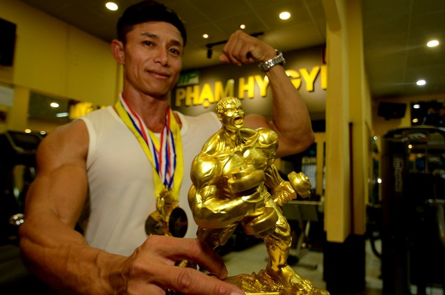 Nỗ lực của Phạm Khắc Hy đã được đền đáp bằng những thành tích xứng đáng.