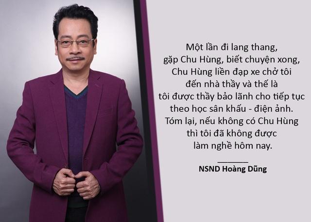"""Xem thêm: NSND Hoàng Dũng tiết lộ về món """"nợ"""" ân nghĩa để đời với NSƯT Chu Hùng"""