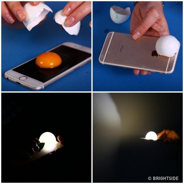 Cách tạo đèn ngủ độc đáo với vỏ trứng.