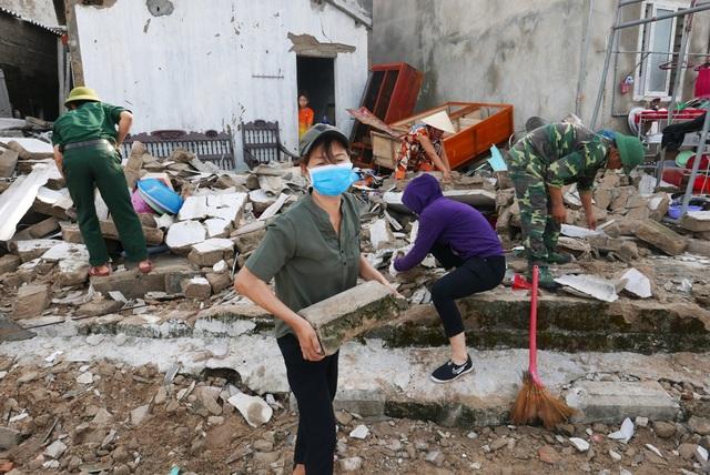 Việc có mặt kịp thời của các chiến sĩ biên phòng là sự trợ giúp, động viên rất lớn đối với những người dân vừa mất nhà cửa, tài sản do bão.