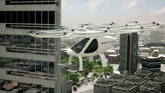 Mô hình taxi bay sắp được triển khai tại thành phố Dubai.