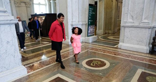 Daliyah được gặp thủ thư số một của Thư viện Quốc hội Hoa Kỳ