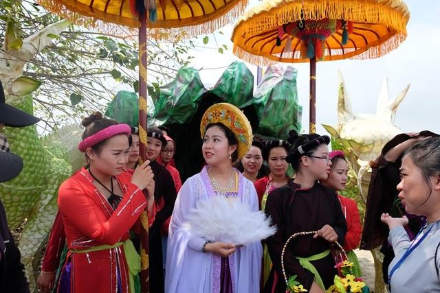 Chiêm ngưỡng hóa trang Bồ Tát trong lễ hội Quán Thế Âm - 12