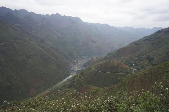 Sau khi chảy qua hẻm vực Tu Sản trên đèo Mã Pì Lèng, dòng sông bị chặn lại bởi đập thủy điện Nho Quế 2. Hiện tại có 3 nhà máy thủy điện được quy hoạch bậc thang đều mang tên Nho Quế (1; 2; 3).