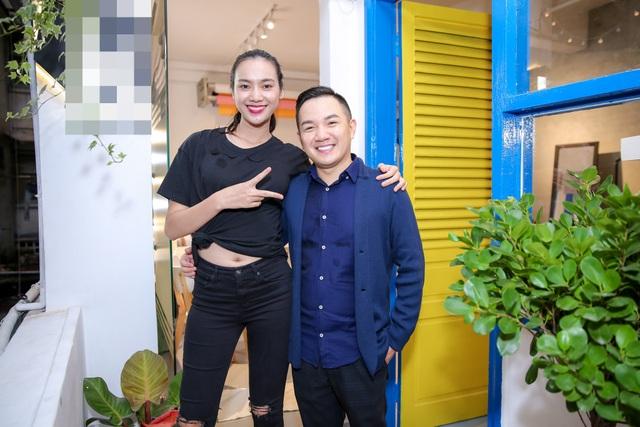 Trương Kiều Diễm - giọng ca gây chú ý tại Sing my song cũng tới dự.