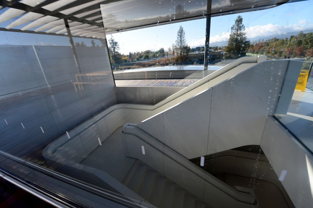 Kiến trúc thang sử dụng bên trong tòa nhà.