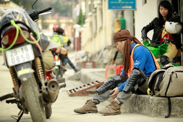 Lâm là một người yêu thích xê dịch và khá nổi tiếng trong cộng đồng du lịch phượt Việt Nam