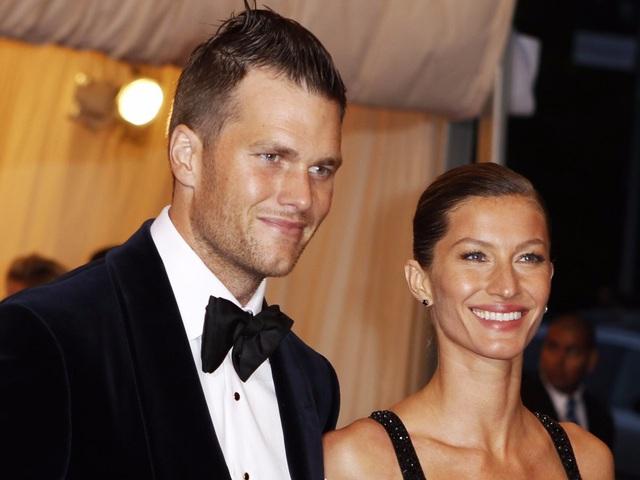 Cầu thủ bóng bầu dục Tom Brady và siêu mẫu Gisele Bündchen