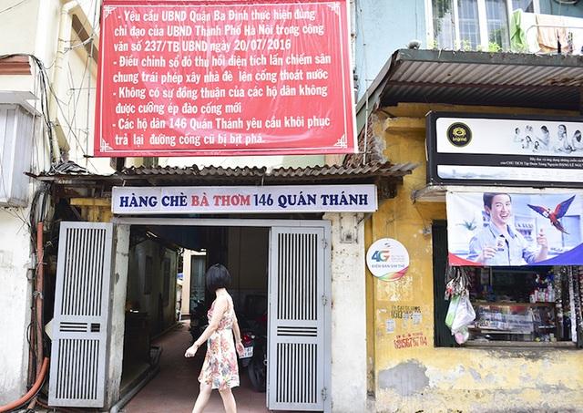 Chủ tịch TP Hà Nội chỉ đạo thông đường cống tắc, giải cứu cư dân 146 Quán Thánh - 3
