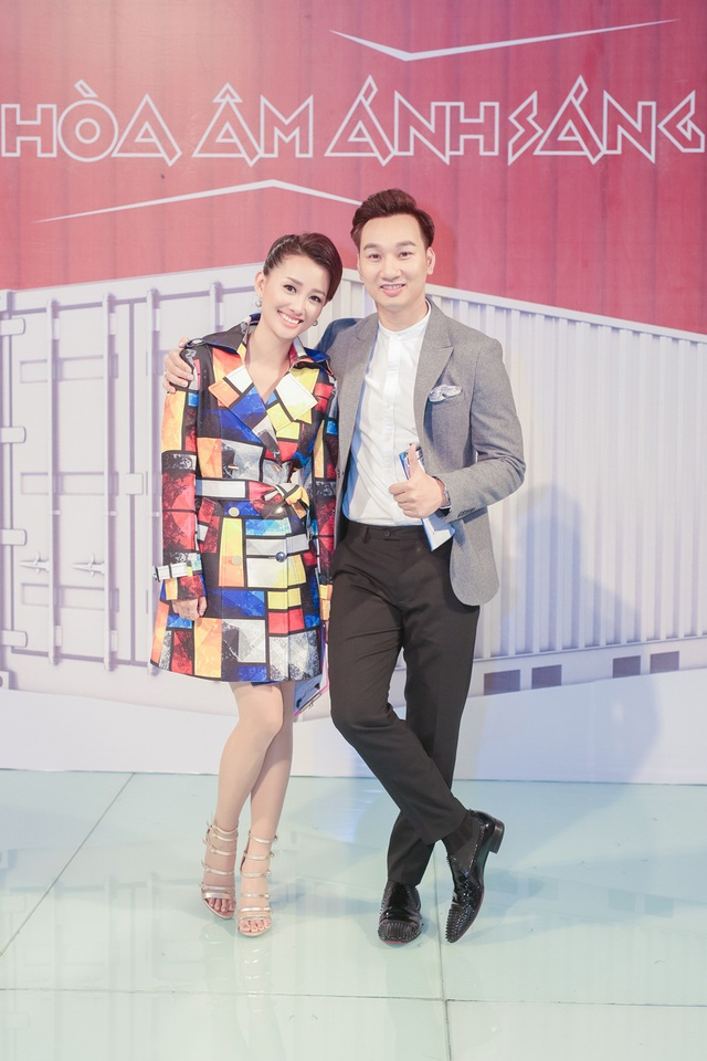 Quỳnh Chi dành nhiều sự biết ơn với đàn anh.