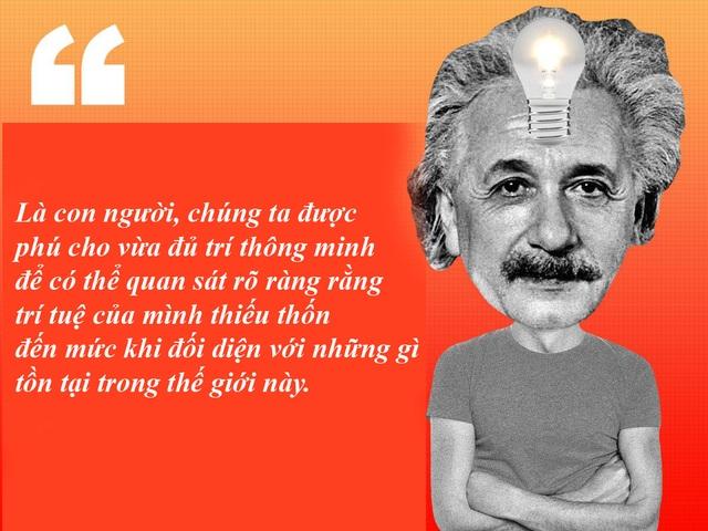 "20 câu nói ""bất hủ"" của thiên tài Albert Einstein - 15"