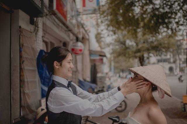 Khi cô dâu Đài Loan đội nón lá Việt.