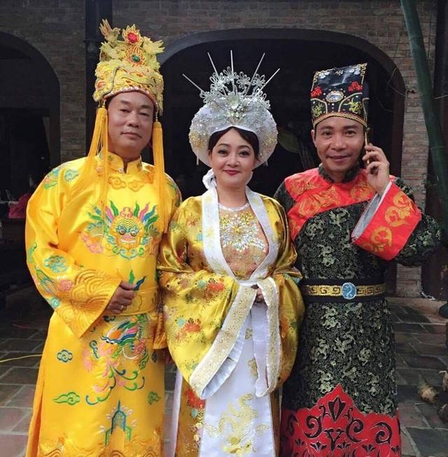 3 nghệ sĩ Phú Thăng, Trà My và Công Lý tham gia phim Giời rụng.
