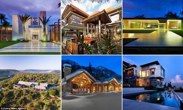 8 căn biệt thự được cho là tuyệt vời nhất này nằm ở các quốc gia như Nam Phi, Hy Lạp, Costa Rica, Cộng hòa Dominica, Canada, Malaysia, và Thụy Sĩ.
