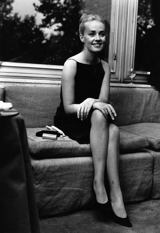Nữ diễn viên người Pháp Jeanne Moreau