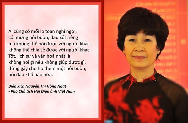 Xem thêm: Nhà biên kịch Hồng Ngát trải lòng về tình cha con của NSƯT Quốc Tuấn