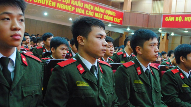Sinh viên Học viện An ninh nhân dân