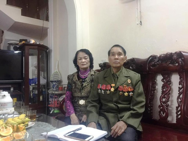 Người lính cụ Hồ cùng vợ bình dị giữa đời thường